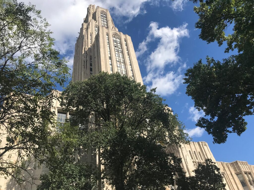 University of Pittsburgh visit during pandemic