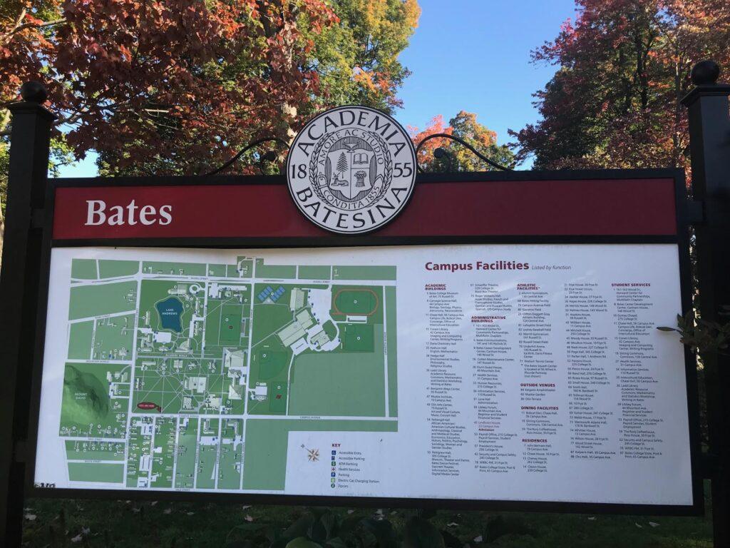 Visting Bates College