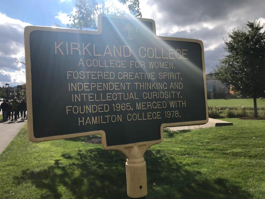 Kirkland and Hamilton College
