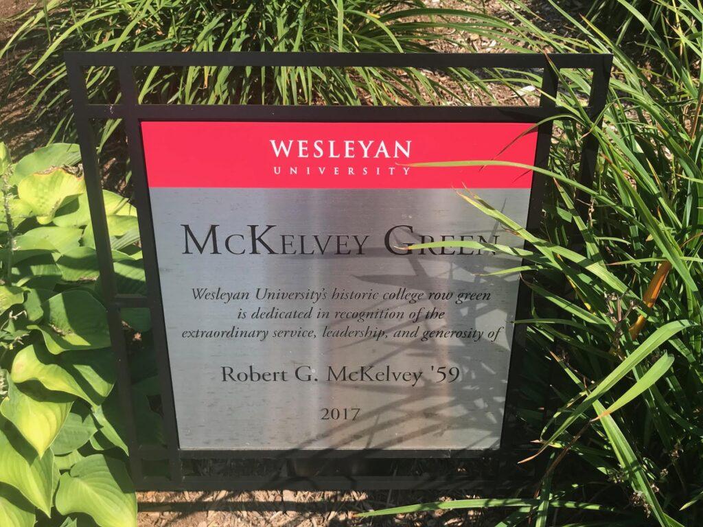 Visiting Wesleyan University