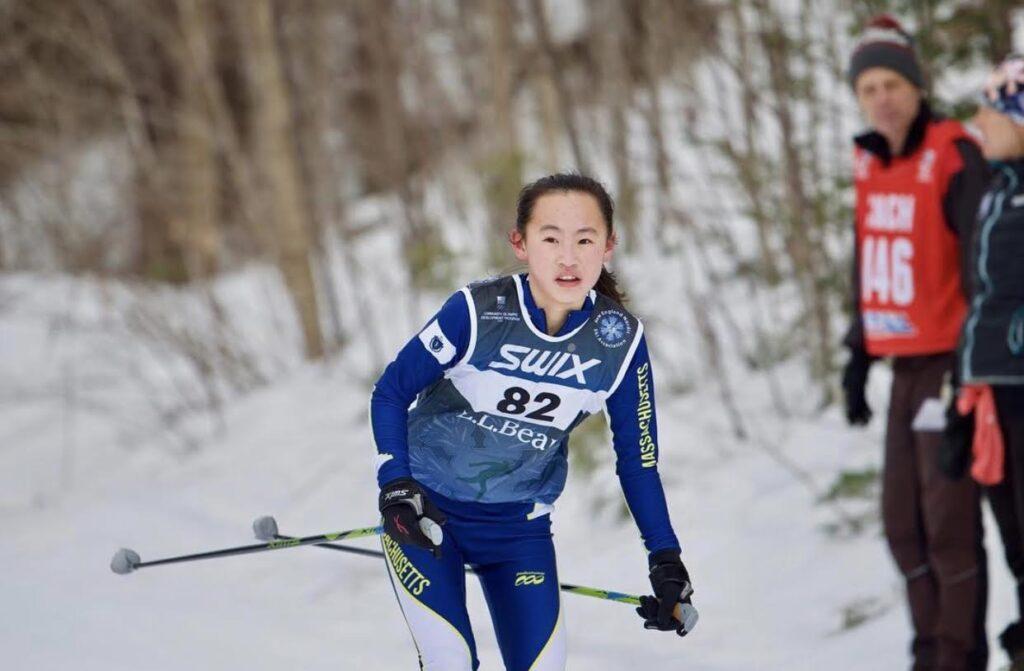 Ali Lee nordic ski
