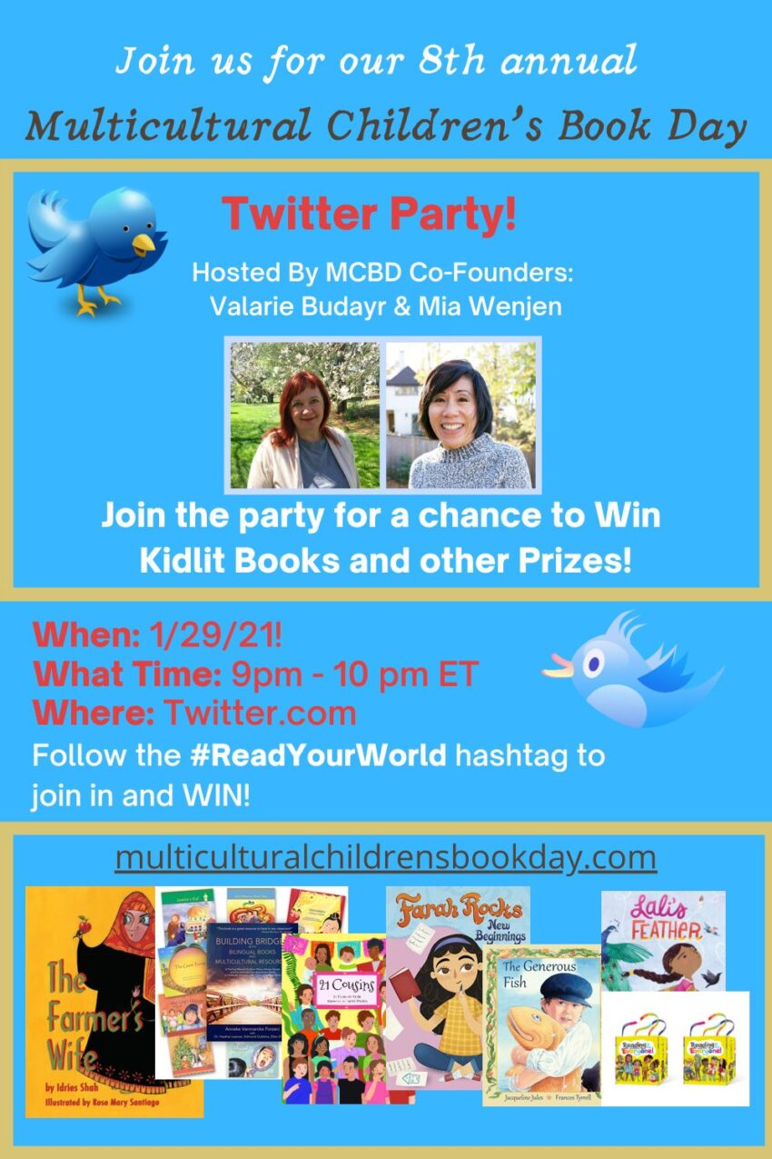 Win Book Bundles at Multicultural Children's Book Day Twitter Party!