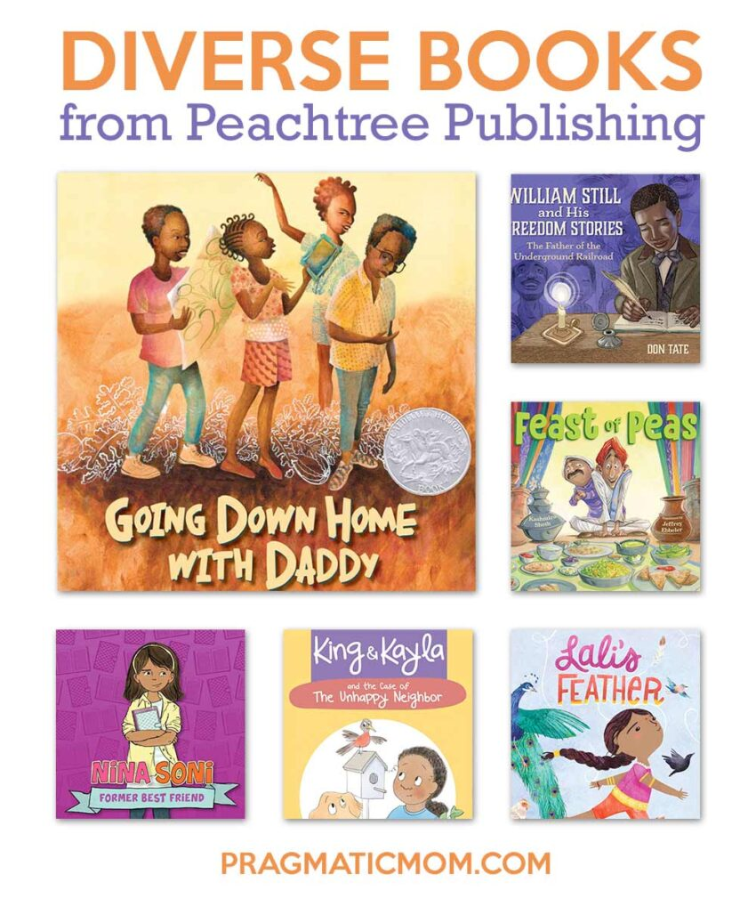 Great Diverse Books from Peachtree Publishing