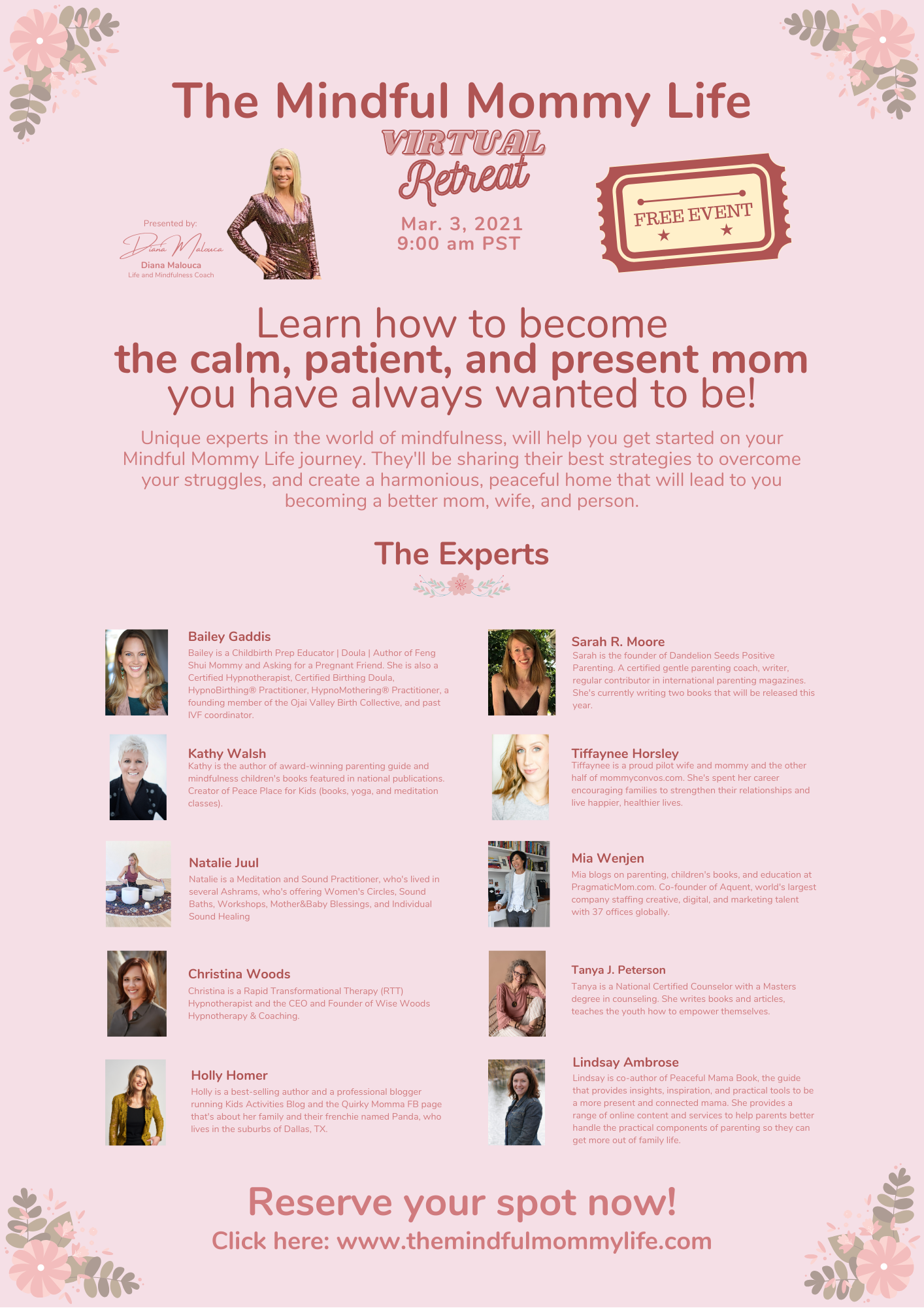 The Mindful Mommy Life Virtual Retreat
