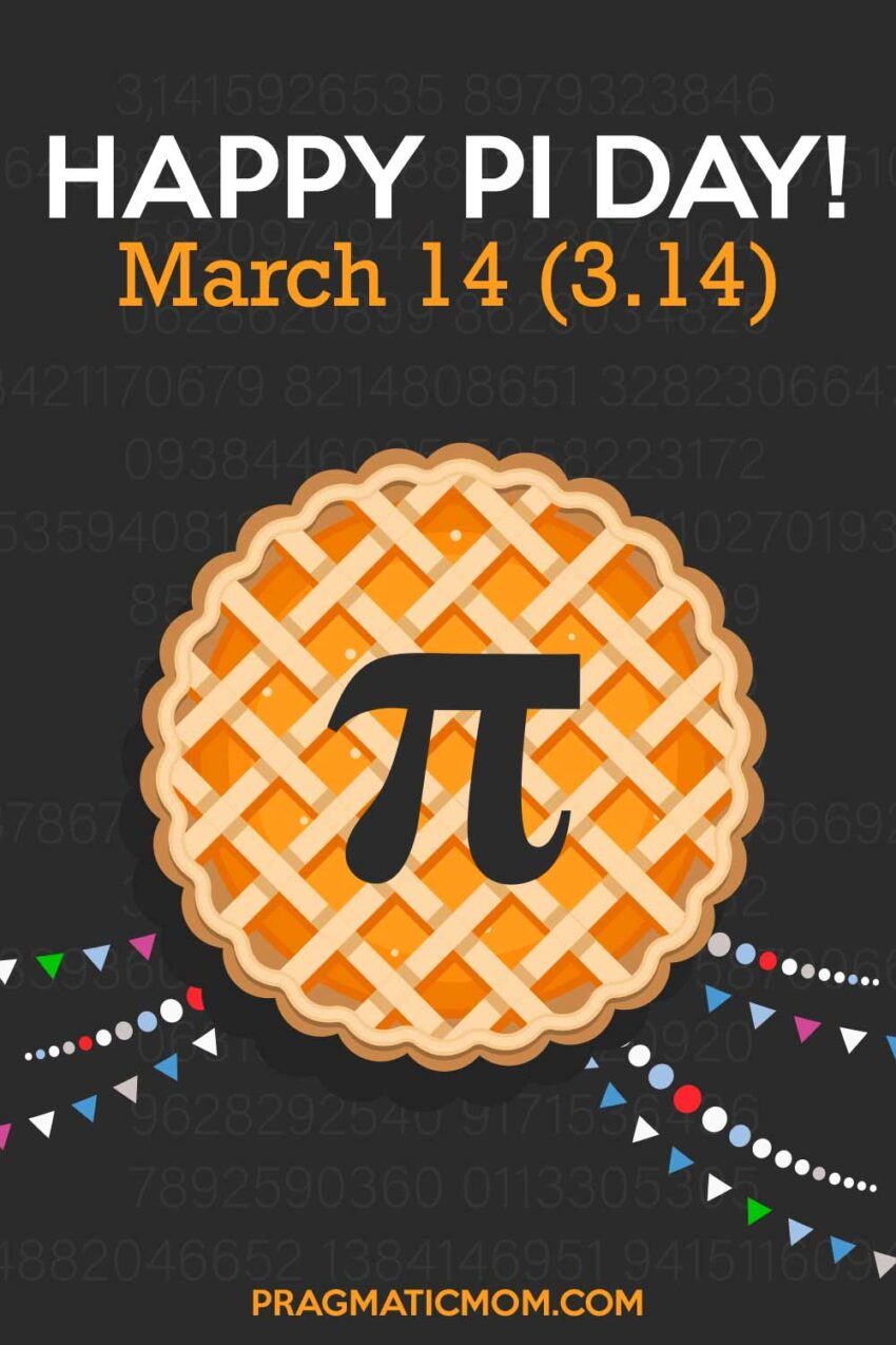 Hooray! Today is Pi Day!