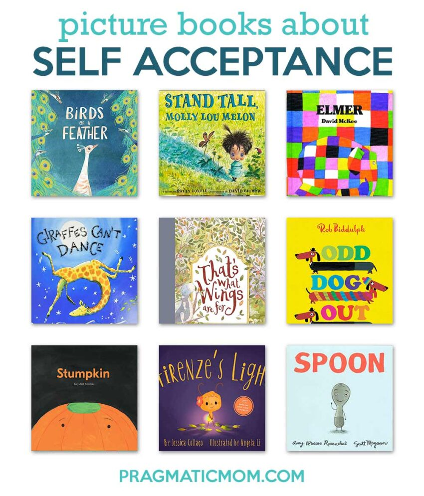 Picture Books about Self Acceptance