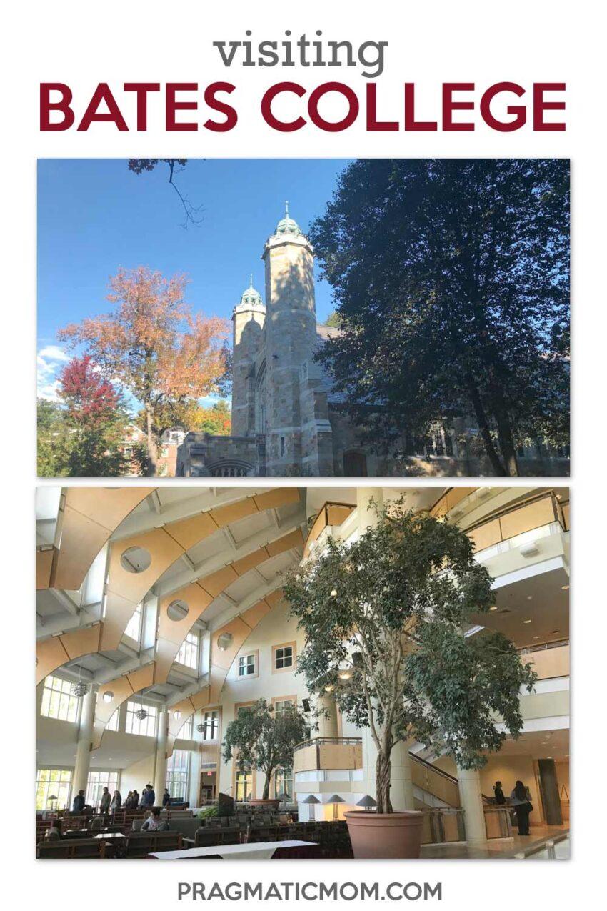 Visiting Bates College