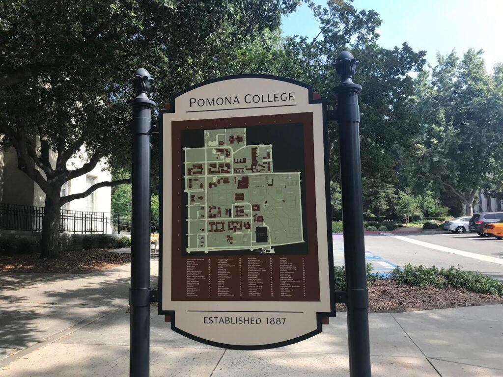Visiting Pomona College