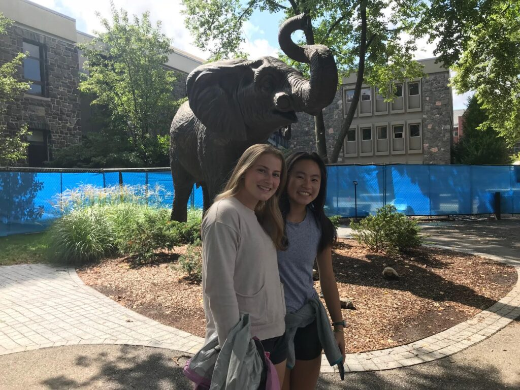 Visiting Tufts University