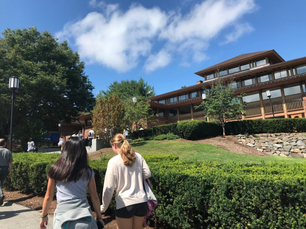 Tufts University Visit