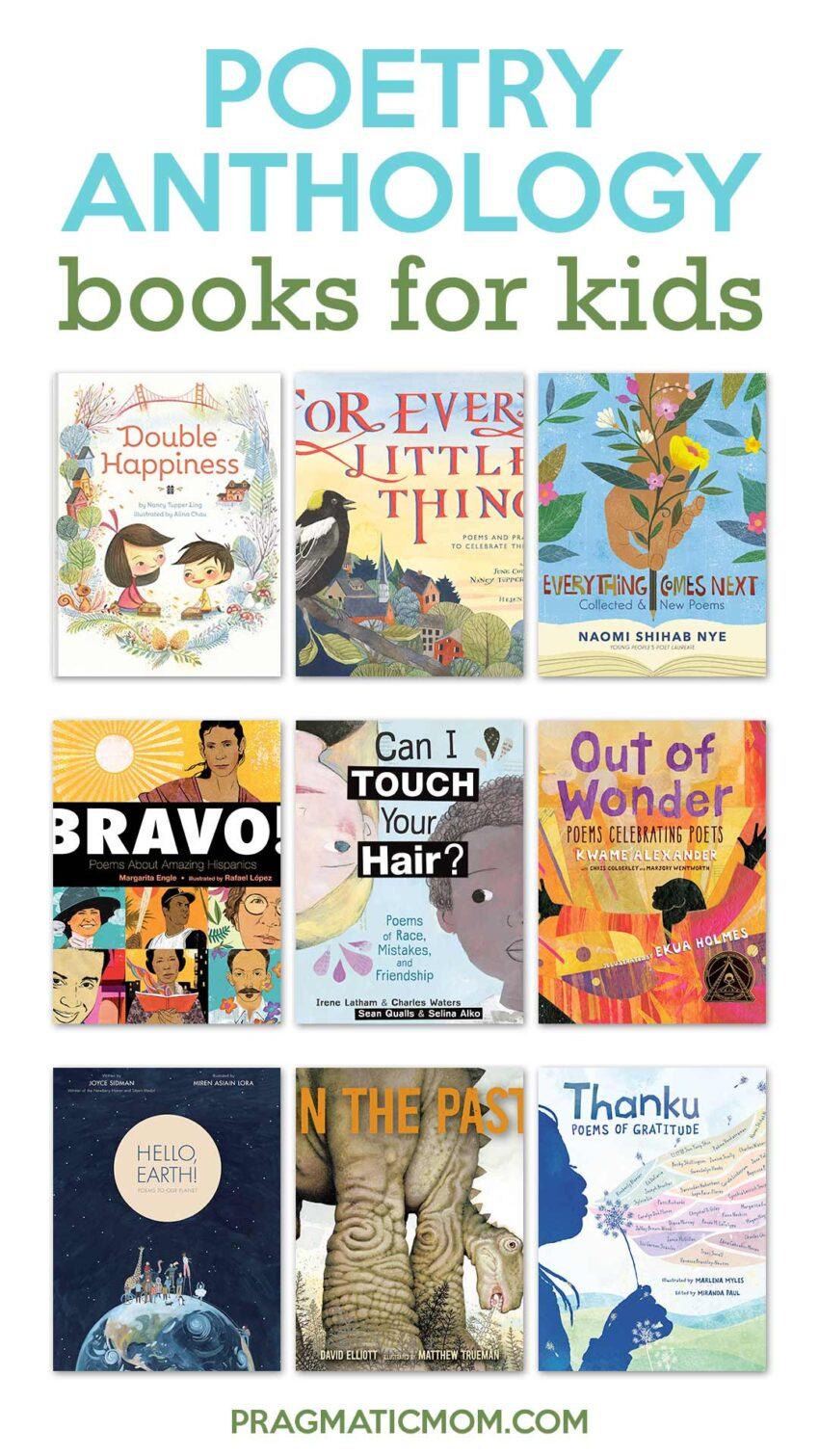 Poetry Anthology Books for Kids
