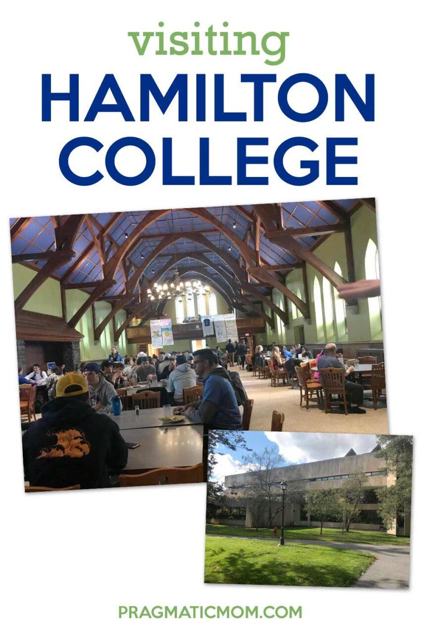 Visiting Hamilton College
