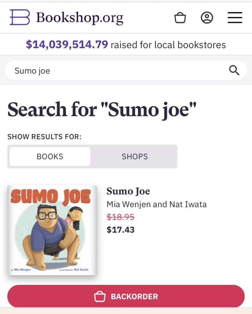 Thank you everyone! SUMO JOE on 2nd printing!!!