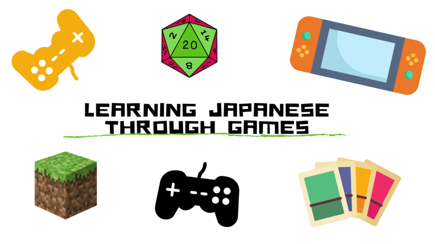 Learning Japanese Through Games