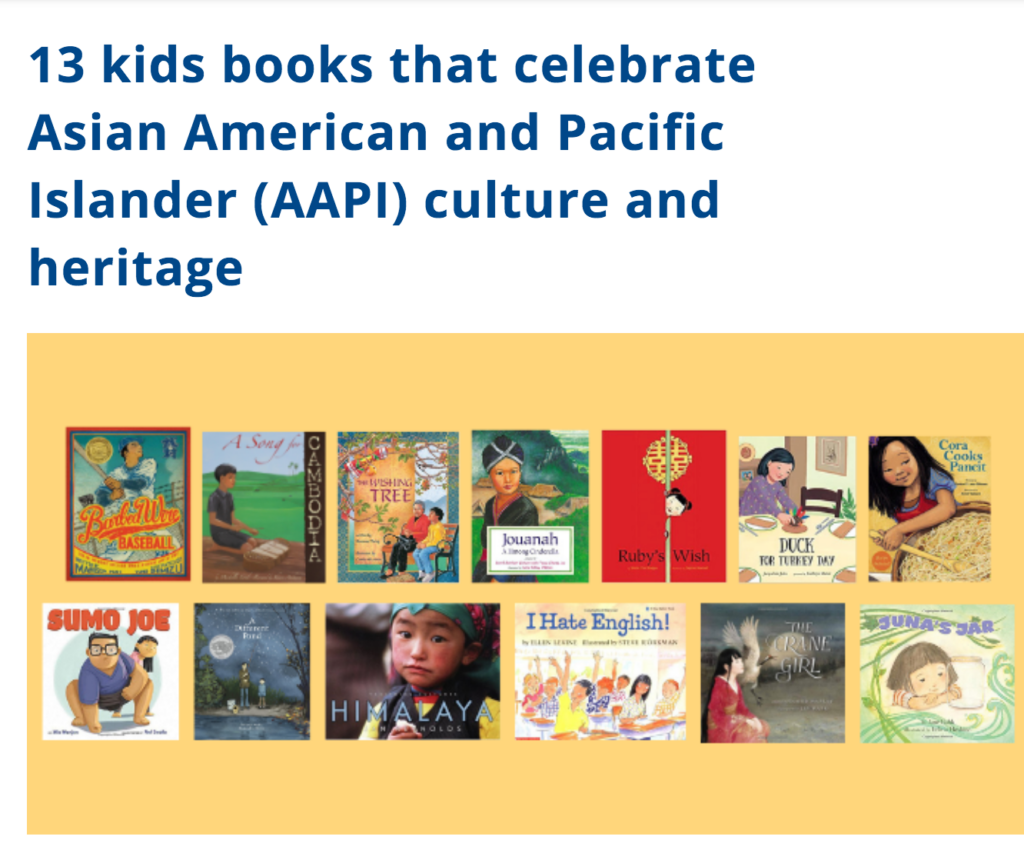 13 kids books that celebrate Asian American and Pacific Islander (AAPI) culture and heritage