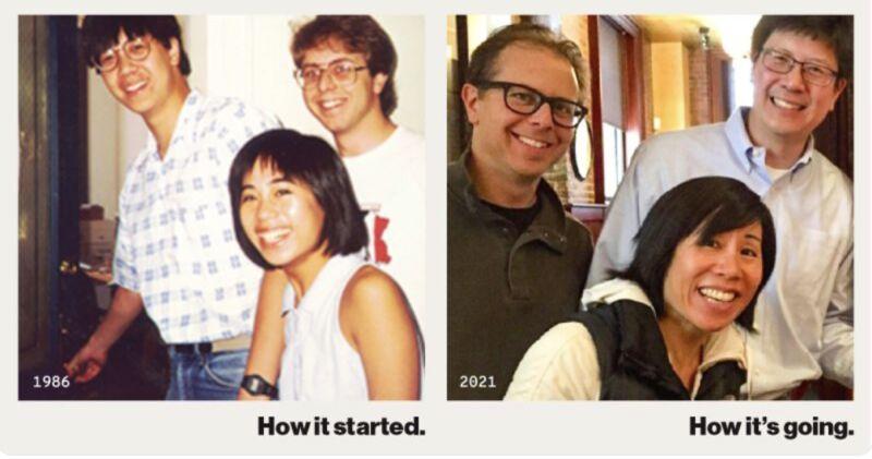 Aquent Founders Mia Wenjen Steve Kapner John Chuang