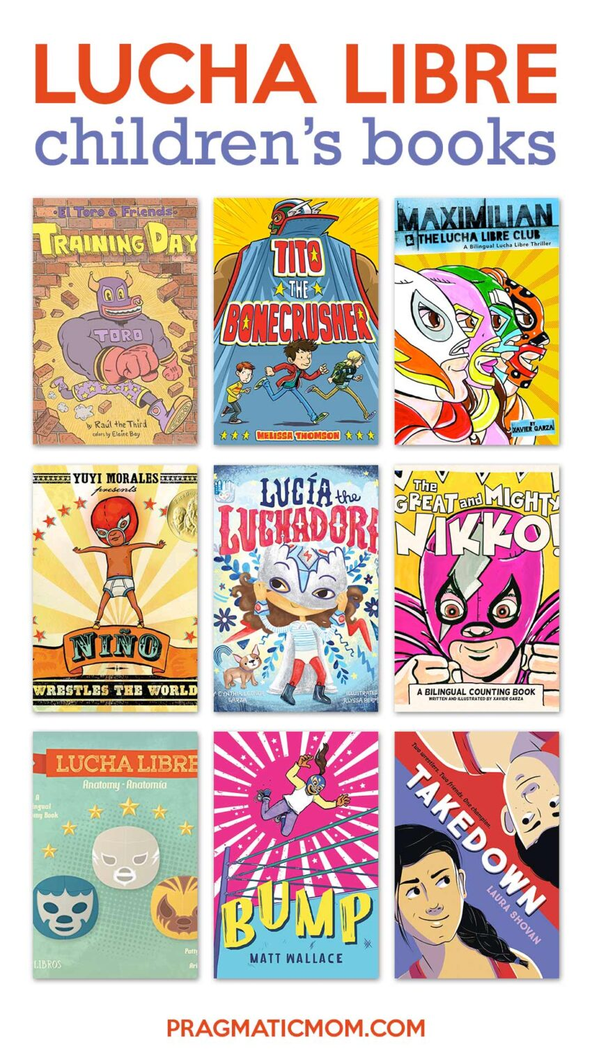 Lucha Libre Children's Books