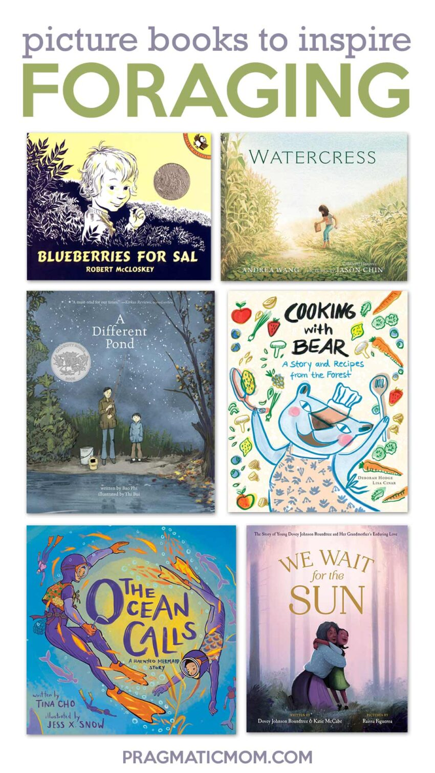 Picture Books to Inspire Foraging