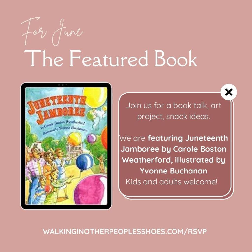 Multicultural Children's Book Club: Juneteenth Jamboree Celebration!
