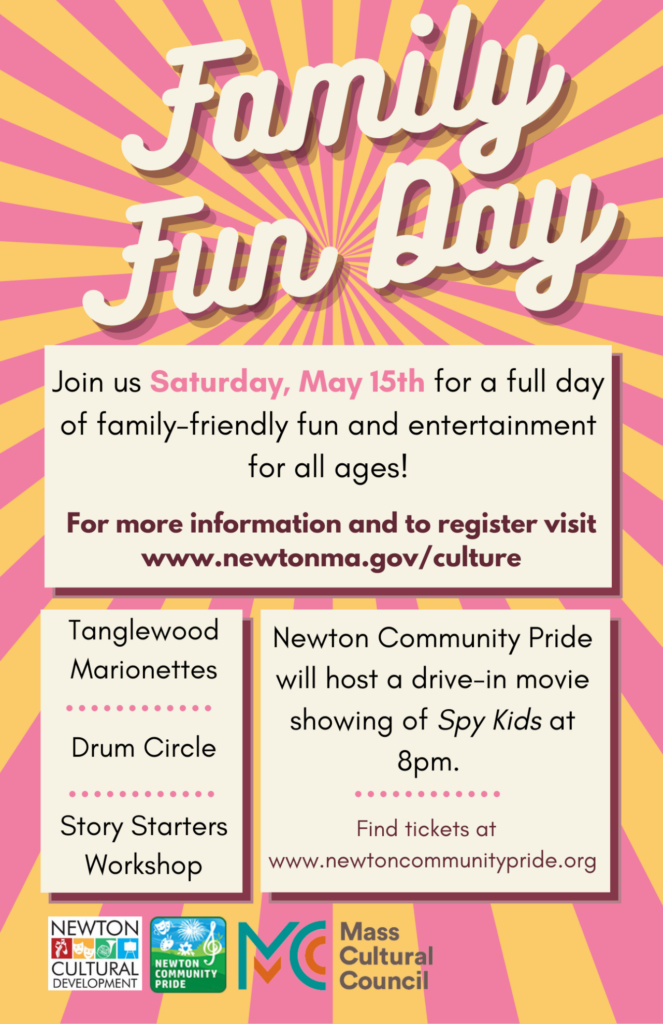 Newton Family Fun Day 2021 Story Starter Sumo Joe Mia Wenjen
