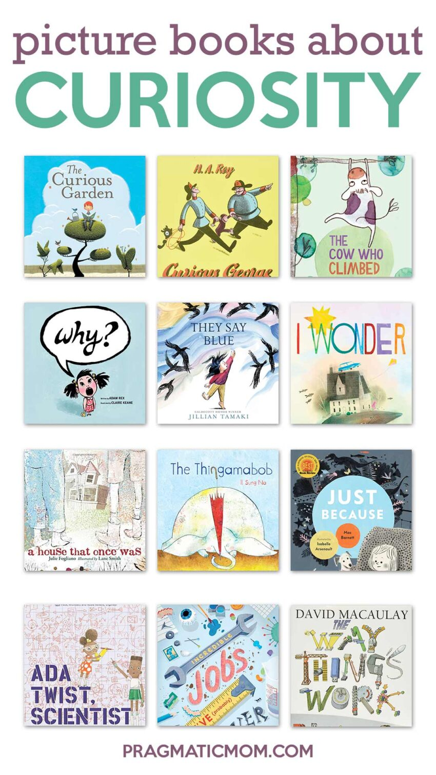 Picture Books about Curiosity