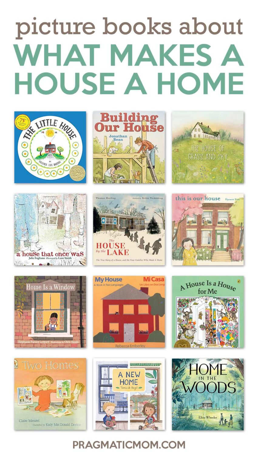 Picture Books about What Makes A House A Home