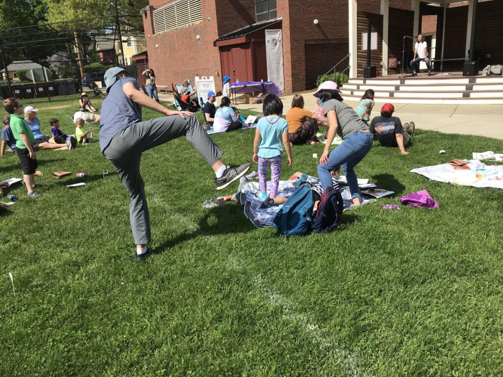 Sumo Joe at Newton Kids Day 2021