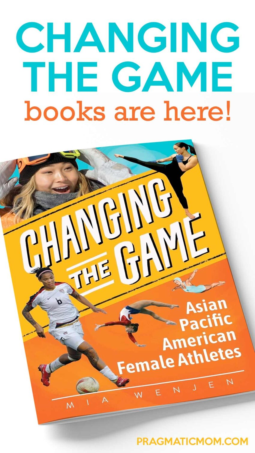 CHANGING THE GAME books are here!