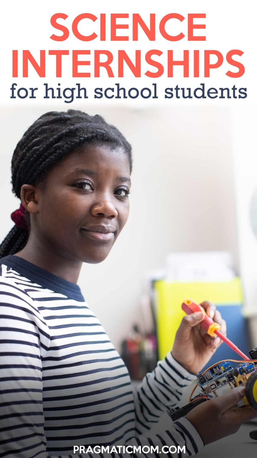 Science Internships for High School Students