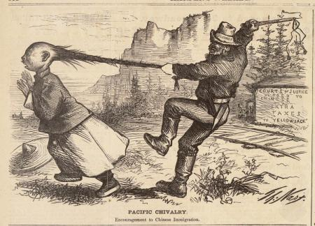 The Chinese Exclusion Act and Chinese Railroad Workers Coolies