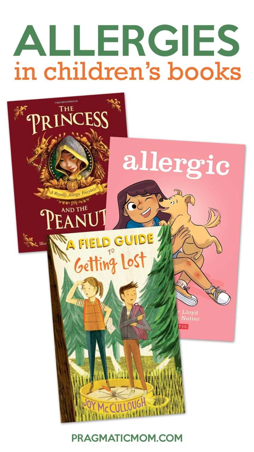 Allergies in Children's Books