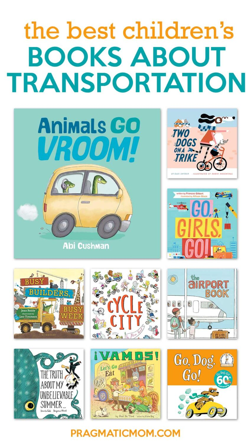 Children's Books about Transportation