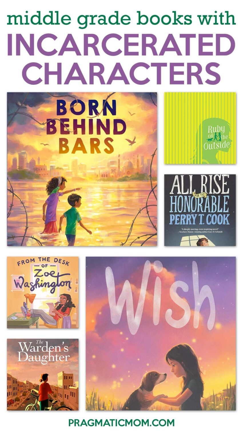 Middle Grade Books Featuring Characters Who are Incarcerated
