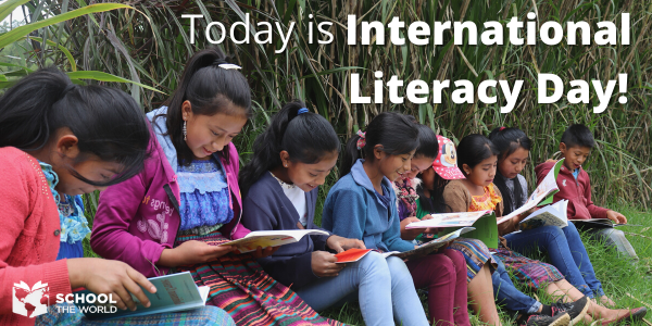 Today is International Literacy Day!