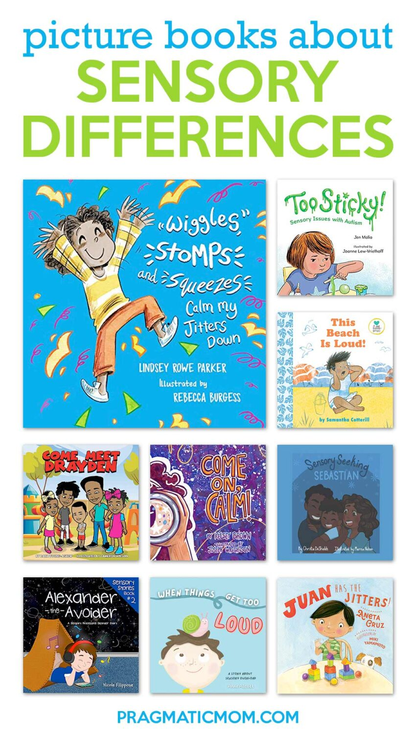 Picture Books about Sensory Differences